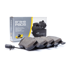 Roadhouse brake system disc brake brake pad set with contact