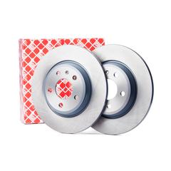 Febi bilstein brake system disc brake brake disc solid