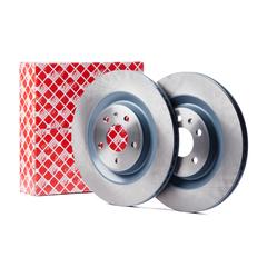 Febi bilstein brake system disc brake brake disc vented