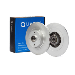 Quaro brake system disc brake brake disc with bearing