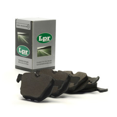 Lpr brake system disc brake brake pad set general
