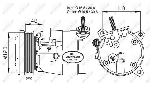 32678 - Kompressor, kliimaseade
