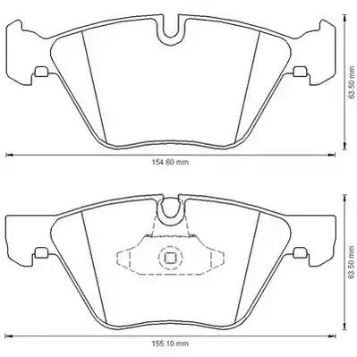 573151J - Brake Pad Set, disc brake