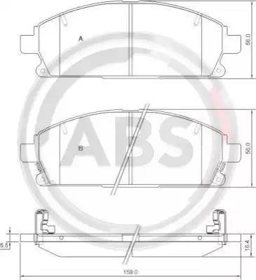 37081 - Brake Pad Set, disc brake