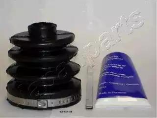 KB-003 - Kaitsekummikomplekt, veovõll