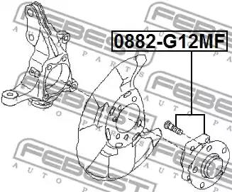 0882-G12MF - Wheel hub