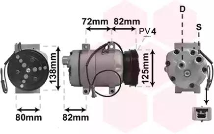 0300K178 - Kompressor, kliimaseade