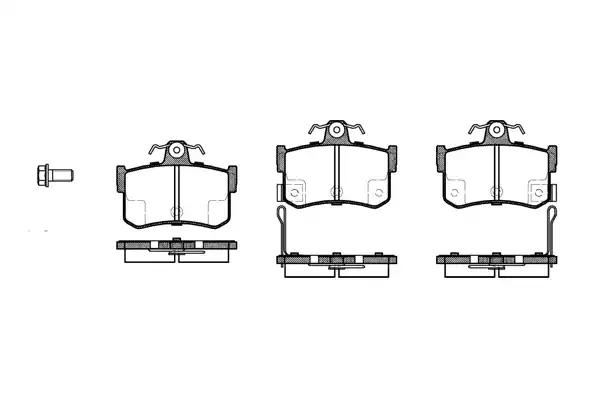 0251.12 - Brake Pad Set, disc brake