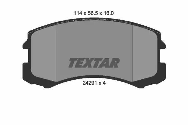 2429101 - Brake Pad Set, disc brake