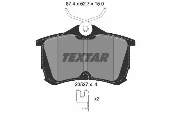 2352701 - Brake Pad Set, disc brake