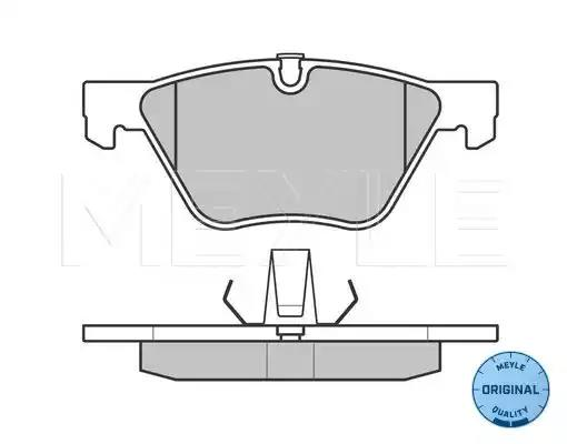 025 240 9620 - Brake Pad Set, disc brake