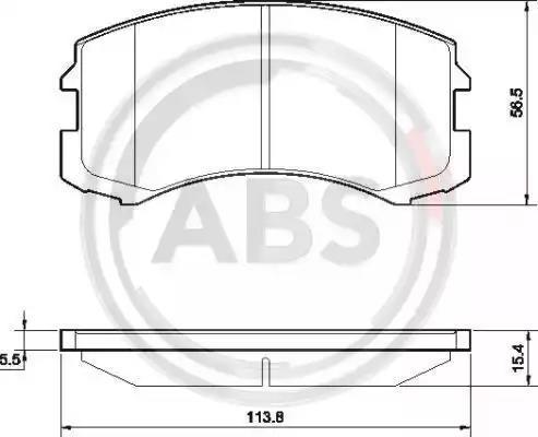 37491 - Brake Pad Set, disc brake