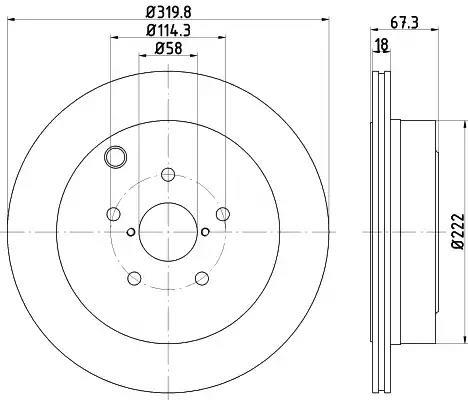 MDC2649 - Brake Disc