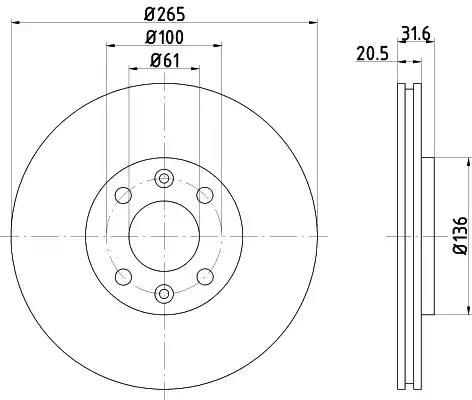 92049400 - Brake Disc