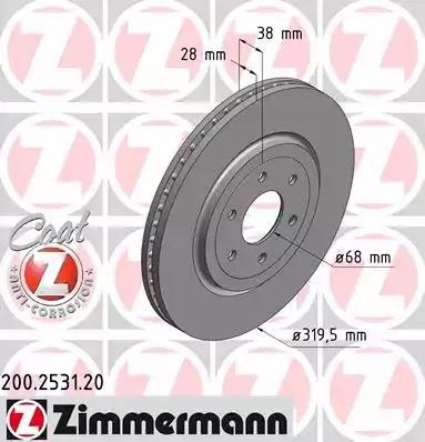 200.2531.20 - Brake Disc