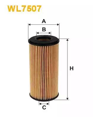 WL7507 - Oil filter