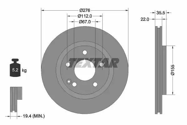 92099600 - Brake Disc