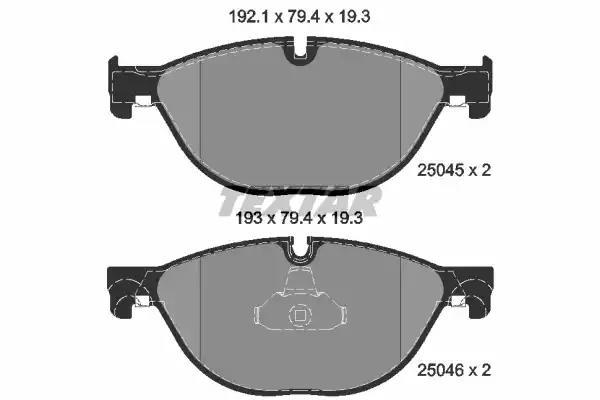2504501 - Piduriklotsi komplekt, ketaspidur