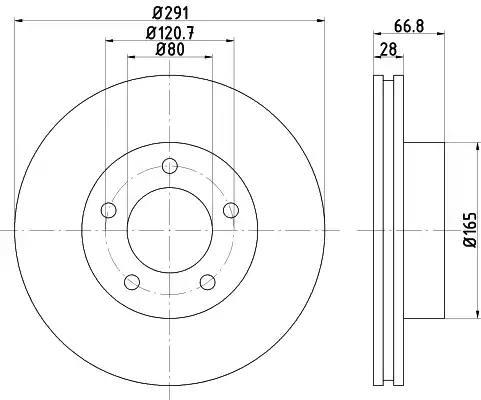 92140200 - Brake Disc