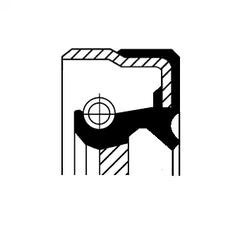 Võlli rõngastihend, diferentsiaal