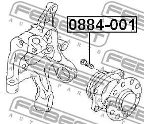 0884-001 - Wheel Stud