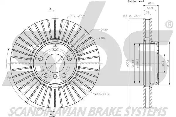 1815201584 - Brake Disc