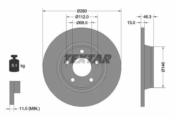 92071603 - Brake Disc