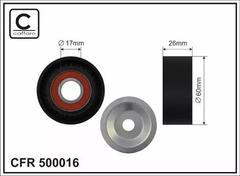 1987-F20-KIT Genuine Febest Pulley Tensioner Kit 11287810807