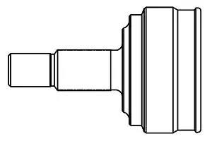 827001 - Liigendlaager, veovõll