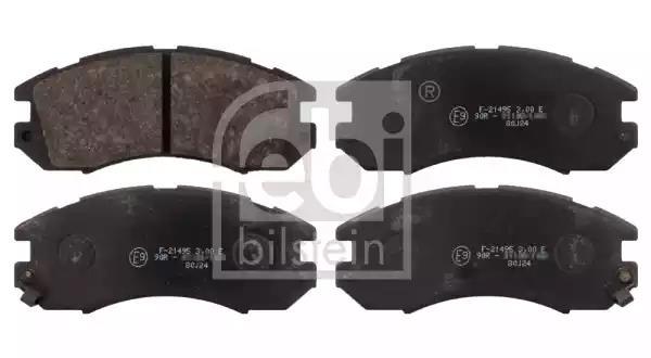 16720 - Bromsbeläggssats, skivbroms