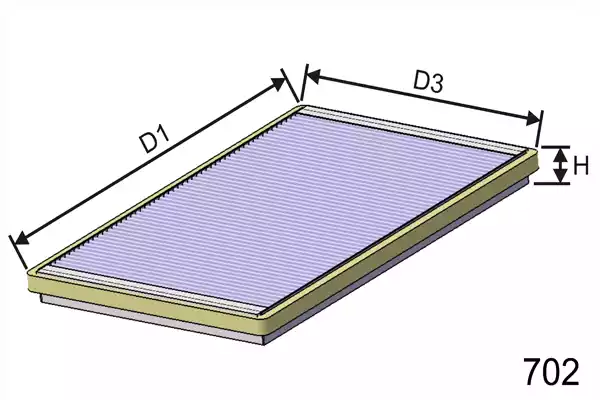 HB113 - Filter, interior air