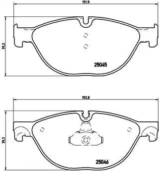P 06 076 - Piduriklotsi komplekt, ketaspidur