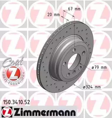150.3410.52 - Brake Disc