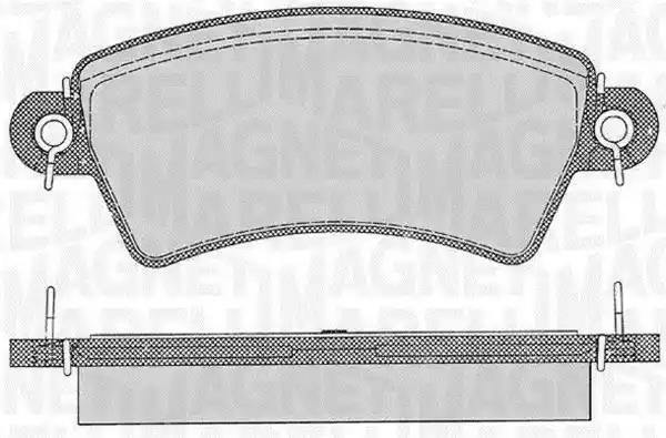 363916060537 - Brake Pad Set, disc brake
