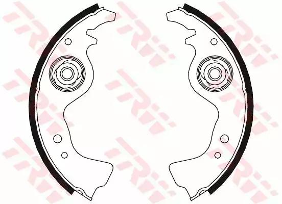 GS8234 - Brake Shoe Set