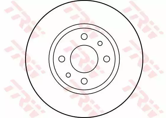 DF2686 - Brake Disc