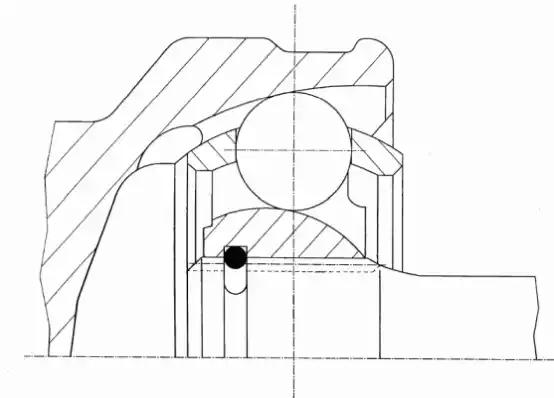 22942 - Joint Kit, drive shaft