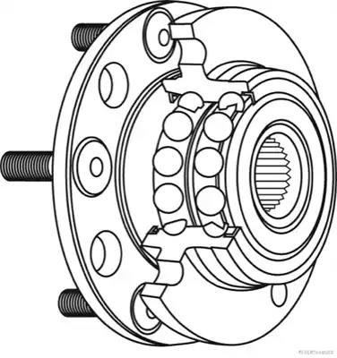 J4718013 - Pyöränlaakerisarja
