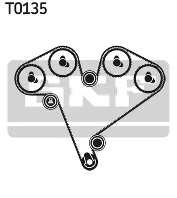 VKMA 05501 - Timing Belt Set