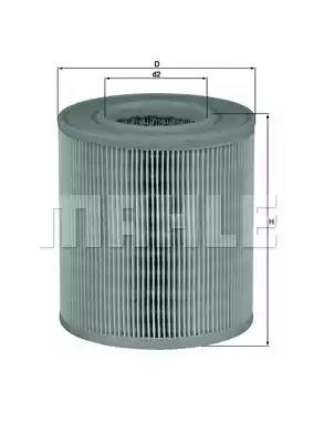 LX 1253 - Air filter
