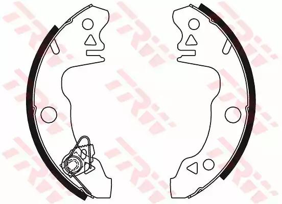 GS8318 - Brake Shoe Set