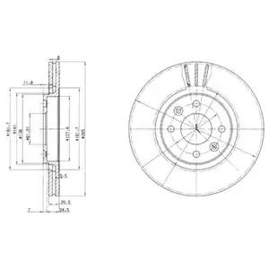 BG2448 - Brake Disc