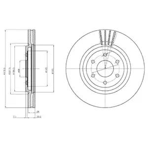BG4176 - Brake Disc