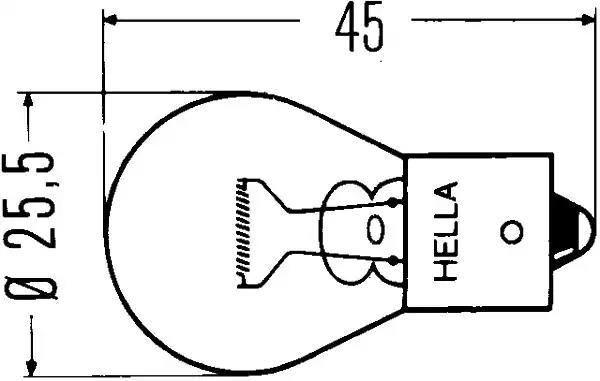 8GA 002 073-121 - Hõõgpirn