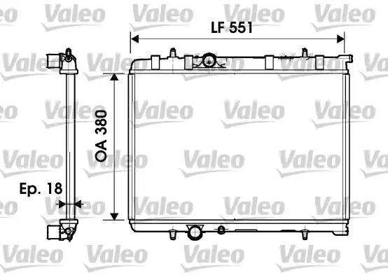 734346 - Radiator, engine cooling