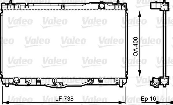 734492 - Radiator, engine cooling