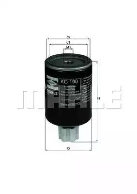 KC 190 - Fuel filter