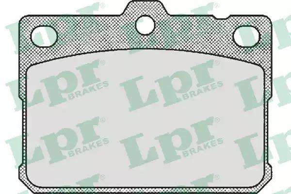 05P169 - Brake Pad Set, disc brake