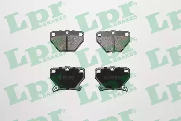 05P836 - Brake Pad Set, disc brake