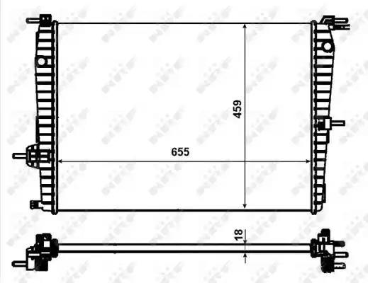 53011 - Radiaator, mootorijahutus